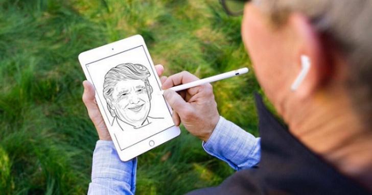 庫克在Twitter上畫了張第二代AirPods產品圖,然後他的照片就被網友玩成這樣了