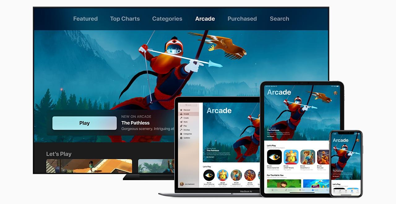 蘋果發表「Apple Arcade」遊戲訂閱服務,它能通吃手遊、掌機、遊戲主機嗎?