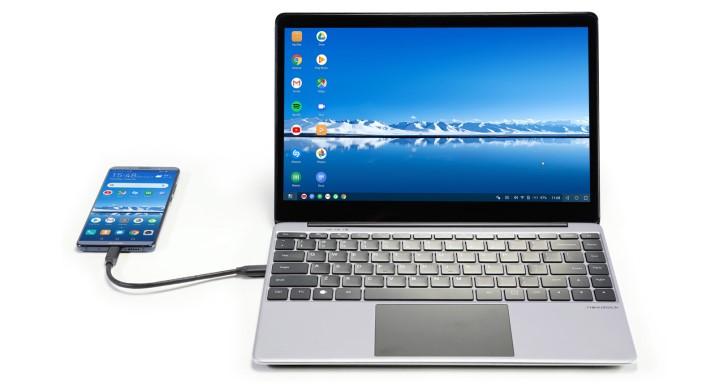 筆電造型的NexDock 2擴充底座,將手機與Raspberry Pi變身筆電