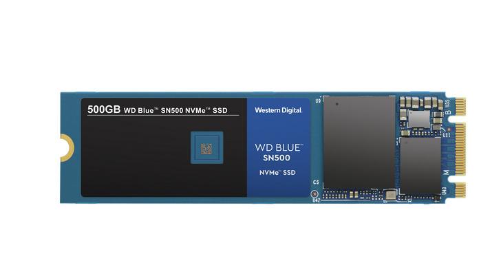 WD Blue SSD推出NVMe版本,較SATA介面提供高達三倍的效能