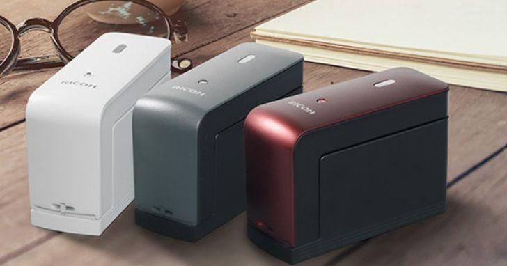 還在用標籤機嗎?日本 RICOH 發表手持印表機 Handy Printer,圖案、文字、條碼、QR-Code 都能即時列印