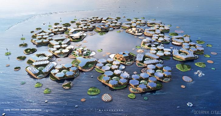 設計 Google 總部的建築事務所,這次要打造一座漂浮城市