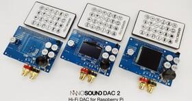 NanoSound再推平價款彩色螢幕DAC2,搭配Raspberry Pi就能建構迷你網路音響系統