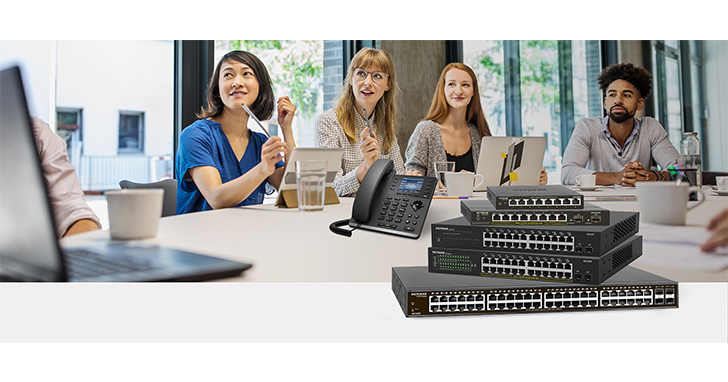 Netgear S350 智能網管型交換器 確保您高速和高度安全網路環境