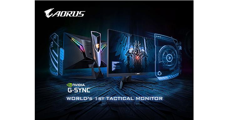 AORUS AD27QD通過NVIDIA官方認證G-Sync相容 虛擬4K搭配獨家準心包下載,就是要讓您超越對手!