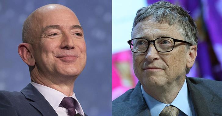 微軟首次成為市值突破1兆美元的公司,但全球首富還是貝佐斯