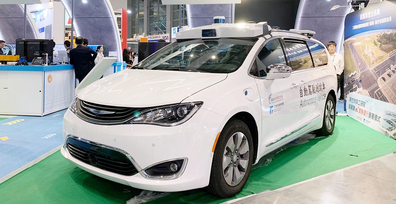 台灣開發的自動駕駛,車輛移動研發聯盟 mTARC 展示最新自駕科技