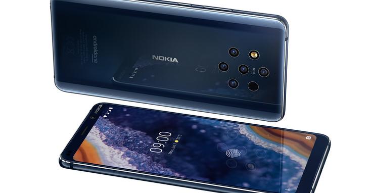 Nokia 9 PureView將於5/3於官方商城首賣,售價20,900元、還有機會抽三大獨家禮