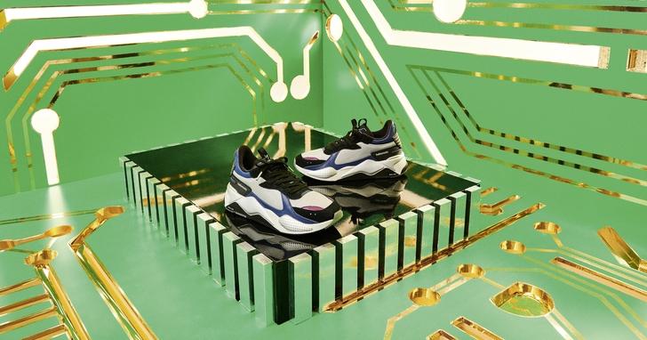 以經典復古手機為設計發想,PUMA 與摩托羅拉合作推出 RS-X Tech 限量聯名鞋款,全台僅發售 36 雙
