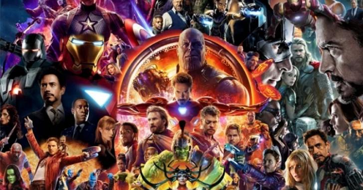 漫威迷將22部漫威電影海報合而為一,做成了這張「無限傳奇」系列海報大合集