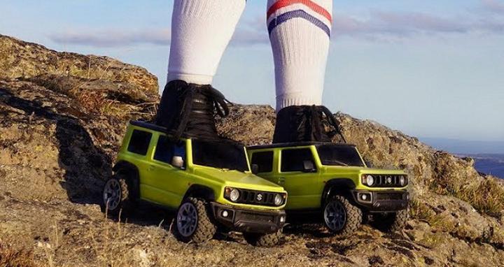 小越野 Jimny 化身溜冰鞋,Suzuki 創意廣告超吸睛