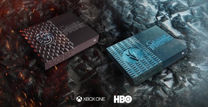 Xbox 與《冰與火之歌:權力遊戲》合作推出「坦格利安 & 夜王版 Xbox One S 全數位特製機」,只抽不賣