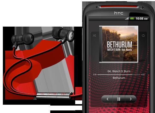 Beats 加持!HTC Sensation XE 實機多圖鑑賞