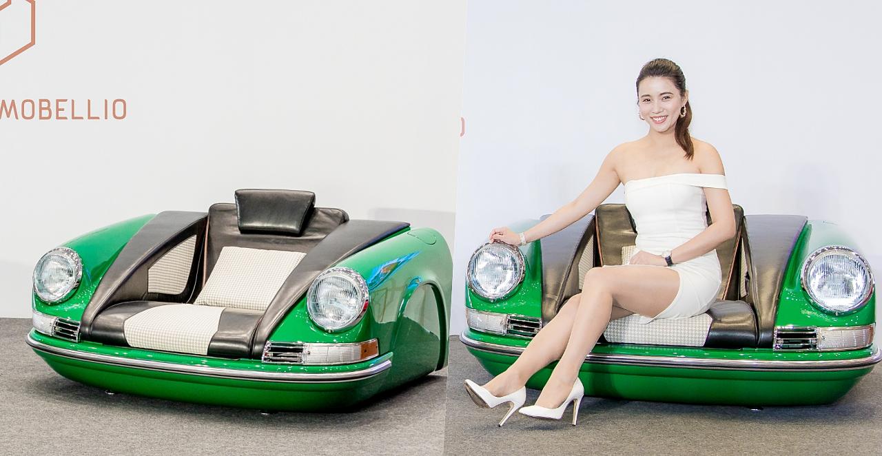 想來張客製化的「保時捷沙發」嗎?代價是台幣 655,000 元起