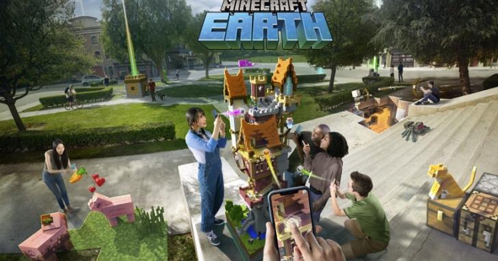微軟發佈Minecraft Earth ,可能是 Pokemon Go 最強對手的AR遊戲