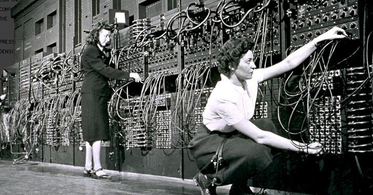 她們是美國第一台電腦背後的女程式設計師
