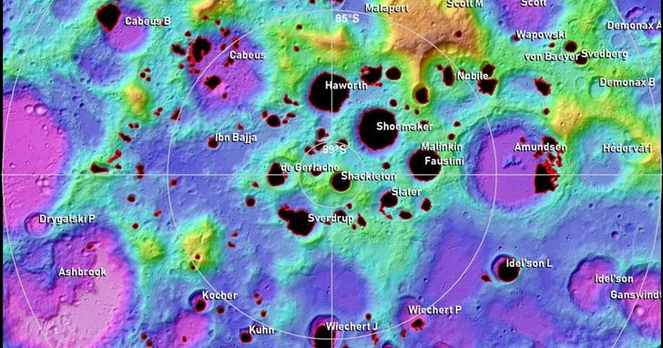 美國2024重返月球,可能在月球南極登陸