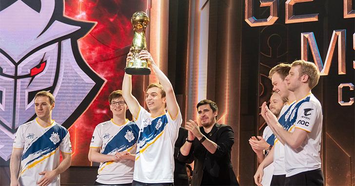 技嘉AORUS結盟戰隊G2 Esports 勇奪 2019《英雄聯盟》季中賽冠軍