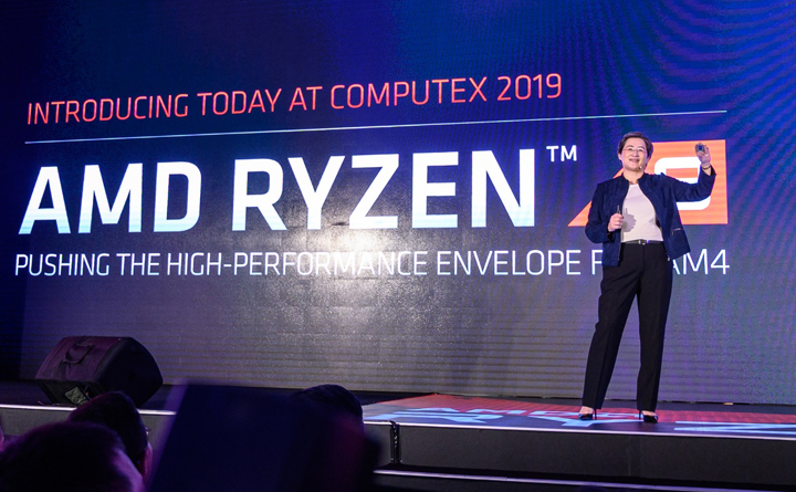 COMPUTEX 2019 :低功耗成為最大優勢,AMD 推出全新 7 奈米第三代 Ryzen 處理器與  Radeon RX 5000 系列遊戲顯示卡,全新架構 RDNA 為遊戲而生