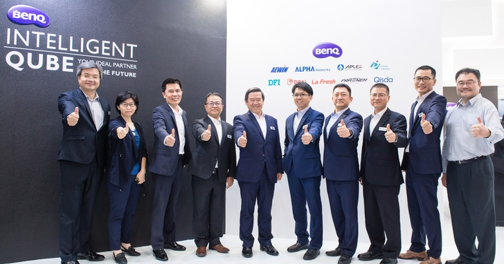 Computex 2019:BenQ 聯合艦隊以智慧魔方為意象,展示 AIoT 企業多元創新解決方案 | T客邦
