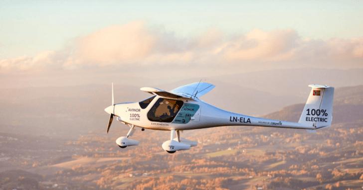 窺視未來飛行:2040 年挪威國內航班都將使用電動飛機