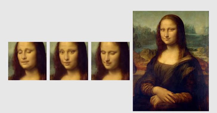 蒙娜麗莎「不笑了」,AI為她打造了一系列的表情包