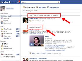 Facebook 首頁動態消息改版搶先看