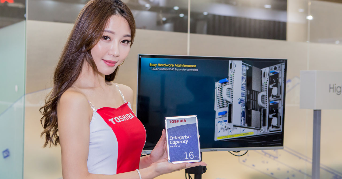 Computex 2019:TOSHIBA 與五大廠商聯手展出多樣化硬碟產品-業界最高容量 MG08 16TB 硬碟、N300 NAS 硬碟與 S300 視訊監控硬碟! | T客邦