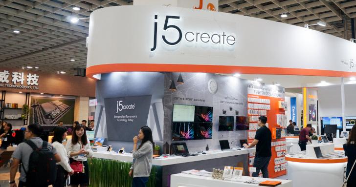 Computex 2019:j5Create蟲洞再升級,還有美型磁吸式USB充電擴充底座 | T客邦