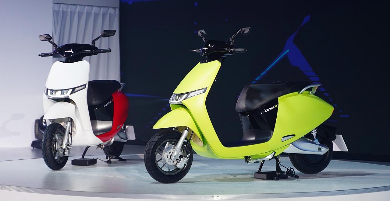 Kymco 光陽最新電動車「i-One X」現身!它會是 Gogoro 的最強對手嗎?