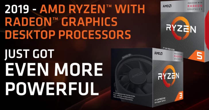 AMD 推出第二代 Ryzen with Radeon Graphics 3000 系列桌上型處理器,12nm 與 Zen+ 在裡面