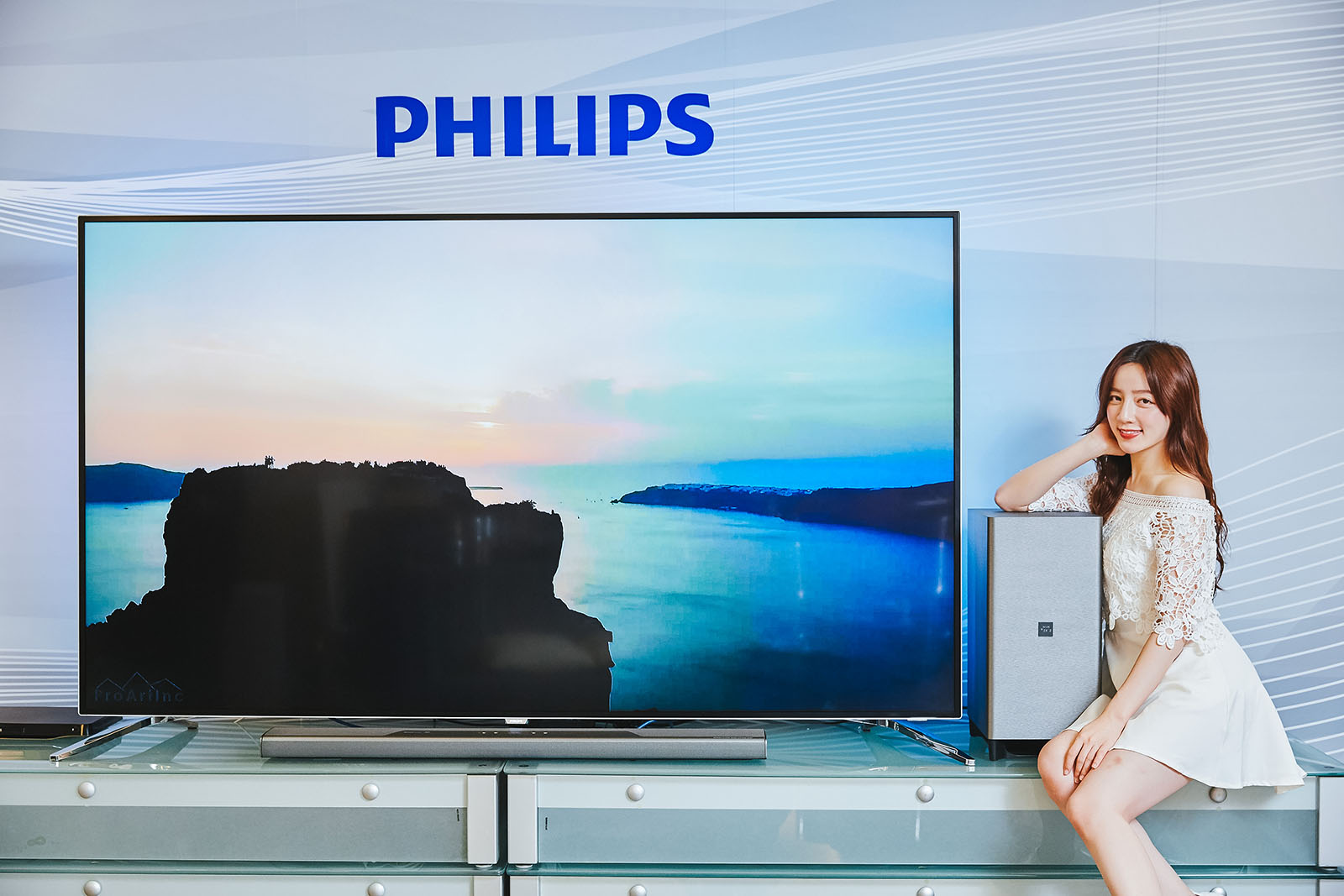 PHILIPS 影音雙旗艦,超大視野 86 吋大型顯示器 86PUH8504 / 極勁音頻 Fidelio B8 聲霸劇院音響搶先評測