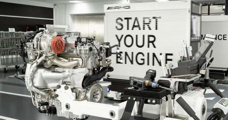 世界最強可量產四缸引擎? AMG 開發的 2.0 升汽油渦輪引擎有 421 匹馬力!