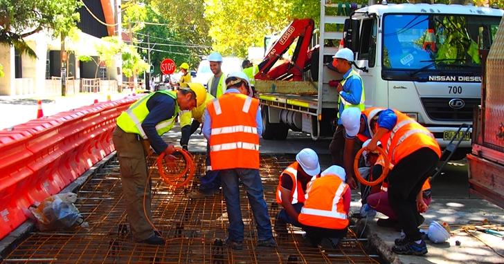 全球溫室氣體排放量約7%來自水泥混凝土生產,雪梨對首段「綠色」混凝土公路展開5年測試