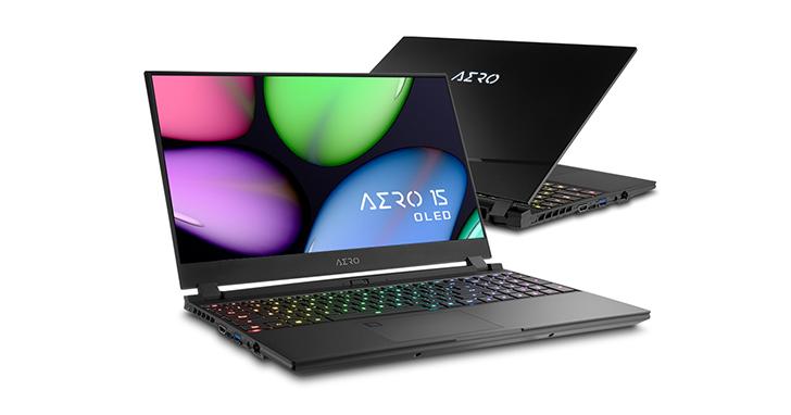 技嘉全新AERO 15 OLED至薄高效筆電即日起上市  搭載三星AMOLED極黑面板全球首賣