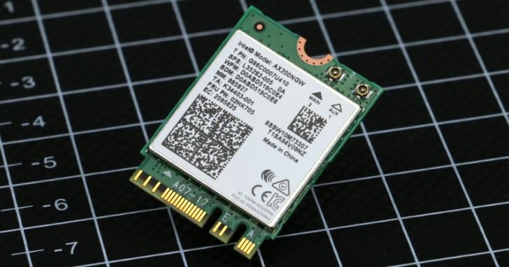 Intel Wi-Fi 6 AX200 無線網路卡測試,802.11ax 雙空間流高速傳輸與價格實惠兼得