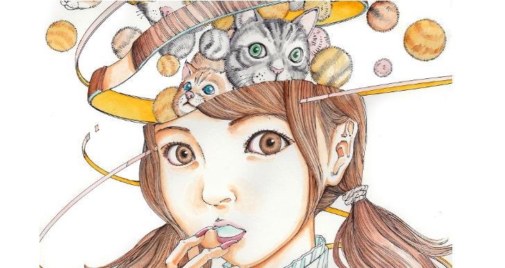 駕籠真太郎插畫集《少女顏面崩壞》在台灣發售電子版
