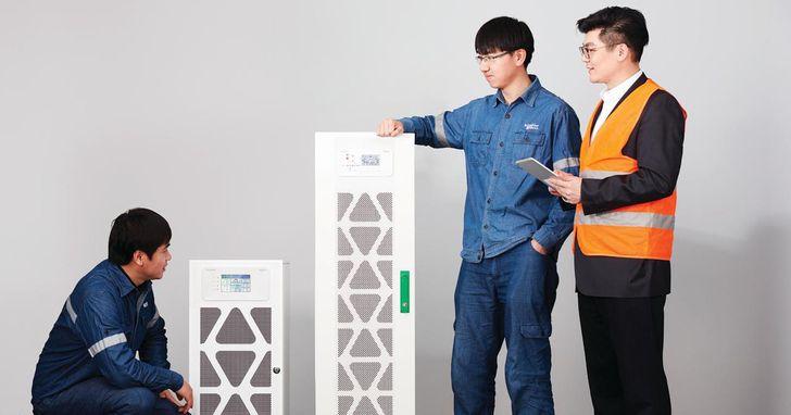 施耐德電機為中小型企業推出Easy UPS 3M,能源效率高達99%