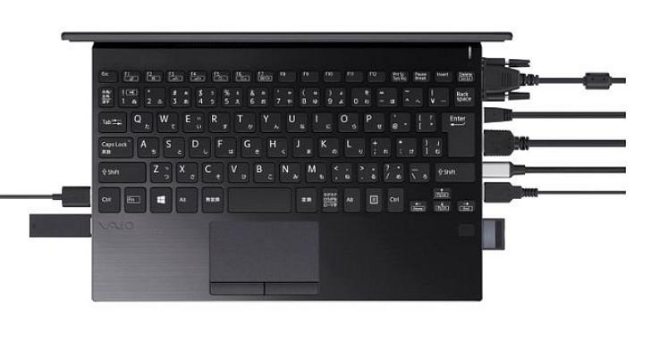 VAIO SX12 :在輕薄筆電拼命減少連接埠的時代,這應該是配備最多連接埠的輕薄筆電了