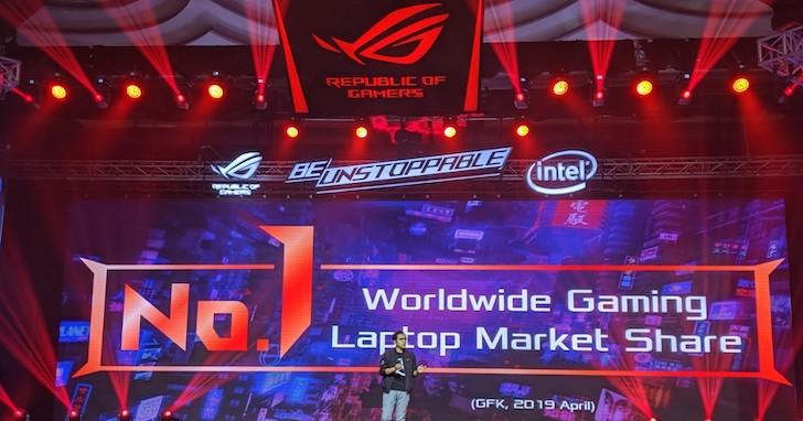華碩搶攻印尼筆電 50% 市占率,發表一系列 ROG 筆電、桌機、周邊、Under Armour 聯名外套