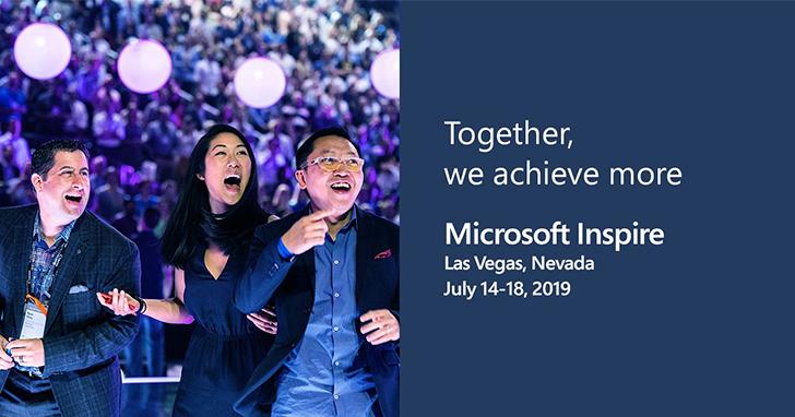 Microsoft Inspire 2019隆重登場!微軟宣布全新合作夥伴重大投資計畫