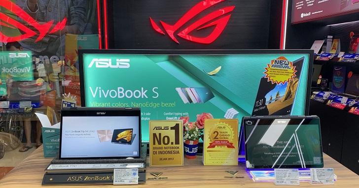 全球筆電銷量衰退下,華碩憑什麼挑戰印尼市場 50% 市占率?