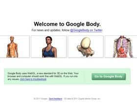 Google也玩醫生遊戲,Google Body 把人體看光光