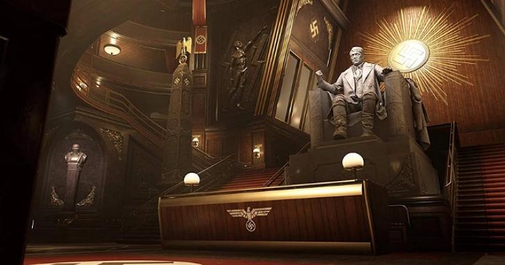 小熊維尼算含蓄,《德軍總部:血氣方剛》爆出遊戲背景的傳單內容痛批川普、火力全開