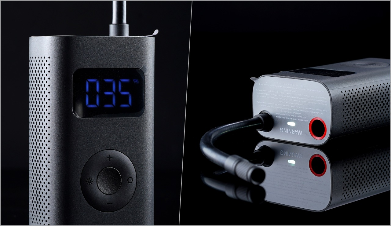 千元有找、史上最划算的無線打氣機?小米米家電動打氣機開箱