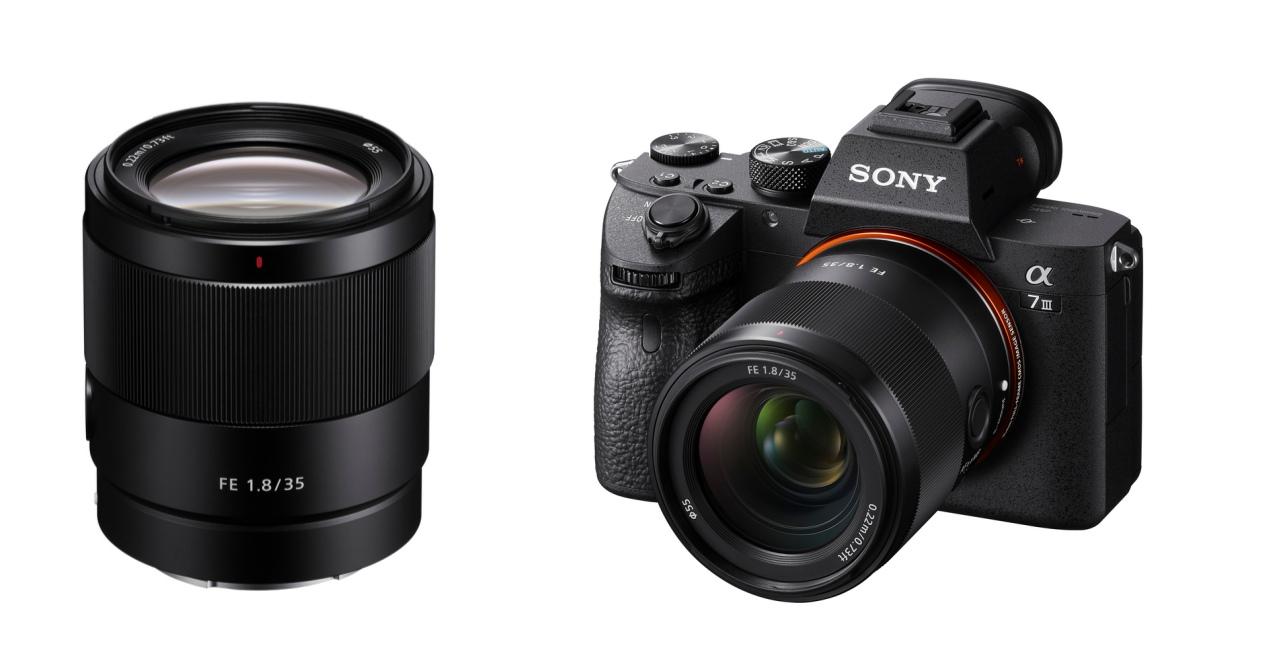 平易近人的 35mm 定焦終於問世,Sony 推出平價 FE 35mm F1.8 大光圈鏡頭,售價 18,980 元