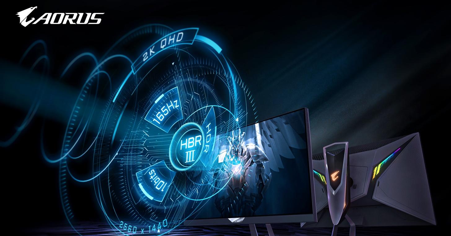 全球首款搭載 HBR3 戰術型電競螢幕 AORUS FI27Q-P 強勢登場!