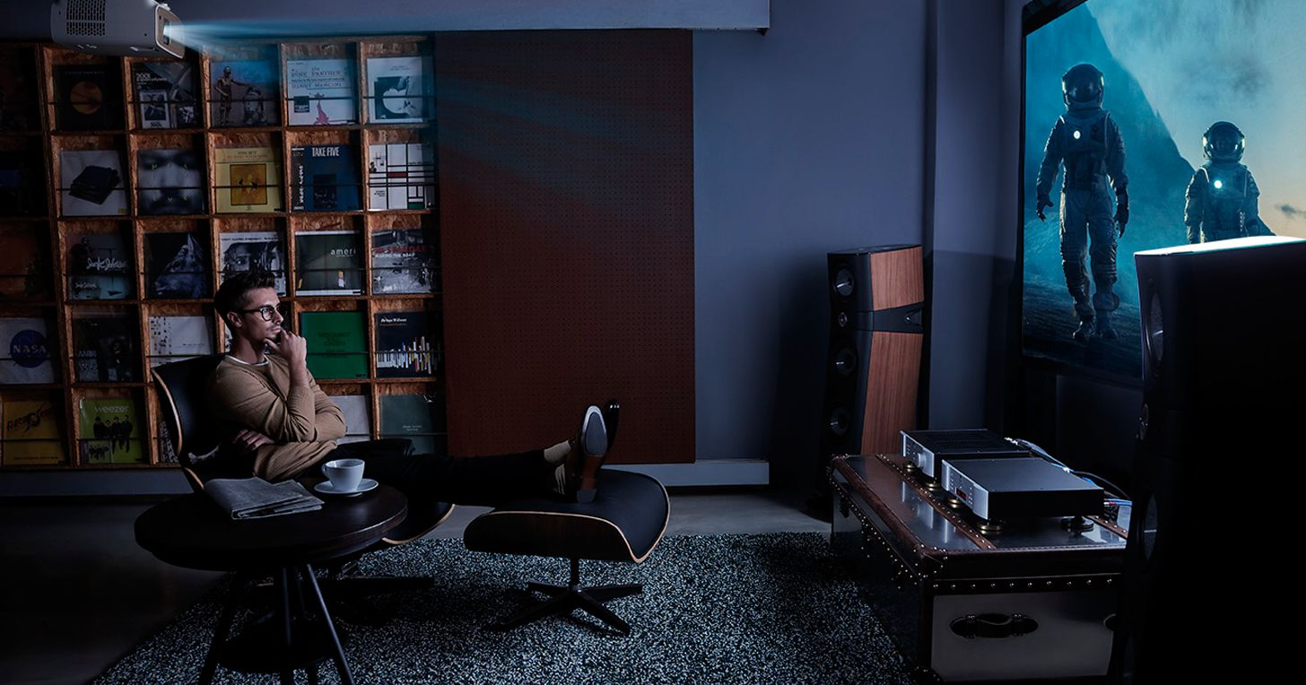 BenQ 4K 投影機優異品質 多項殊榮加身 2019 上半市占 26.2% 勇奪 4K 投影機銷售第一