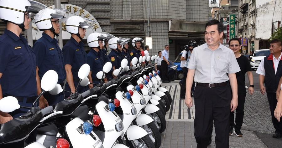 北市警局也採用 Gogoro,400 台即日用於巡邏勤務