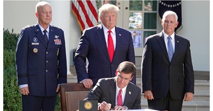 美軍正式成立第11個作戰指揮部:太空司令部,帶有實兵的第六軍種---太空部隊也即將組建